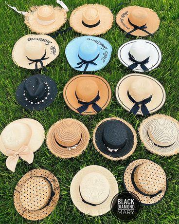 Канотье, соломенная шляпа капелюх солома