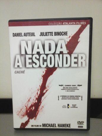 Dvd Nada a Esconder (Caché) PLASTIFICADO Novo ENTREGA IMEDIATA Binoche