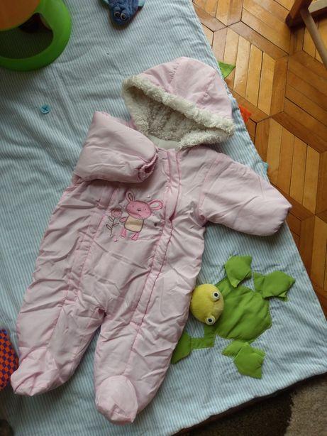 Kombinezon  i kurteczka niemowlęca r. 62