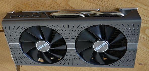 Radeon Rx 580 sapphire Nitro+ 4gb