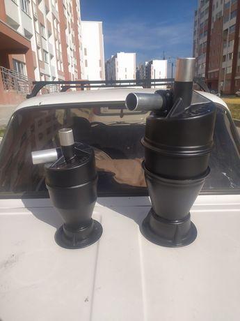 Циклон фильтр для пылесоса с герметичный металлическим ведром