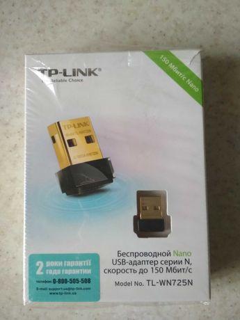Беспроводной Wi-Fi адаптер TP-LINK. Новый