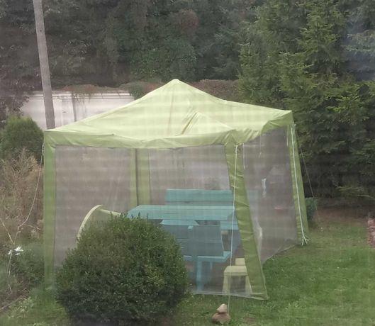 Namiot ogrodowy z moskitierą