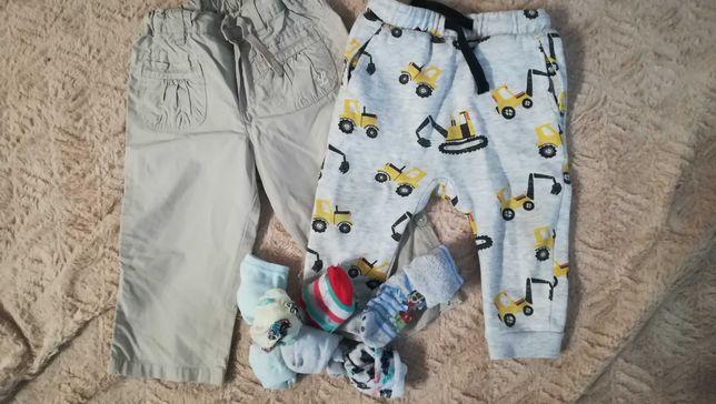 Ubranka chłopięce 74-80, mega paka ubrań. Tanio! + gratis