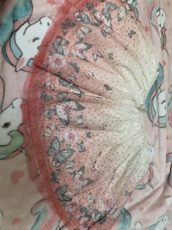 Spódniczka H&m motylki tiul