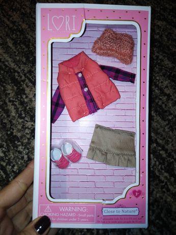 Lori zestaw ubranek dla lalki Close to Nature