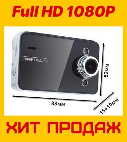 АвтоМобильный регистратор, Видеорегистратор DVR, камера K6000 Full HD