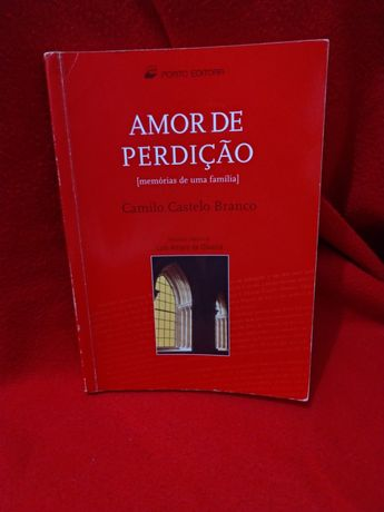 """""""Amor de Perdição"""" de Camilo Castelo Branco - Plano Nacional de Leitur"""