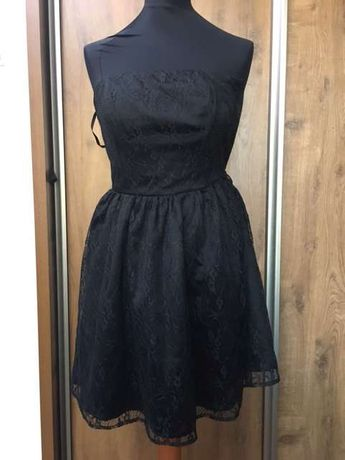 Sukienka koronkowa czarna, Vero Moda , rozmiar 34
