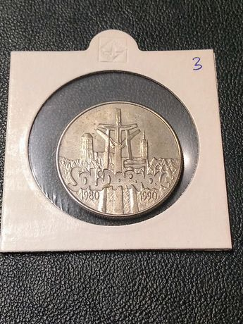 Moneta solidarność 10000 zł 1990