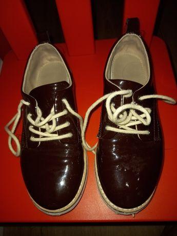 Sapato casual menina 32 bordeux