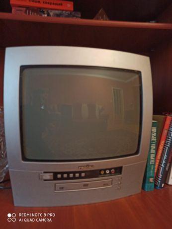 """Телевізор 14"""" з вмонтованим DVD"""