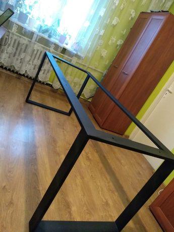 Nogi metalowe do stołu kuchennego loft industrial