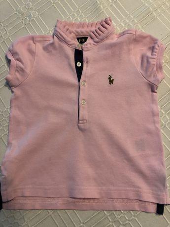 Polo,  t-shirt   Ralph Lauren - dziewczynka 2 latk