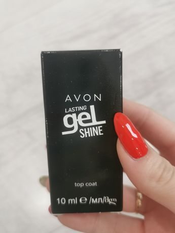 Avon lasting gel shine lakier Top nawierzchniowy