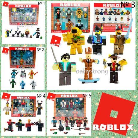 Игровые наборы Роблокс - Roblox 5 видов Фигурки - Конструктор - Лего