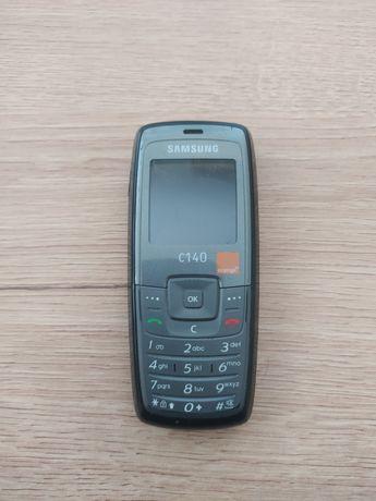 Samsung C140, simlock Orange, bez baterii z ładowarką