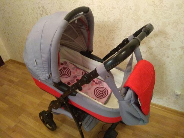 Коляска (дитячий візок) 2 в 1 Adamex Enduro в доброму стані