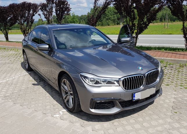 BMW 750i Xdrive - DO ŚLUBU