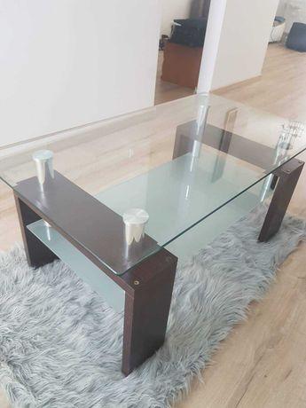 Szklana ława, stolik kawowy