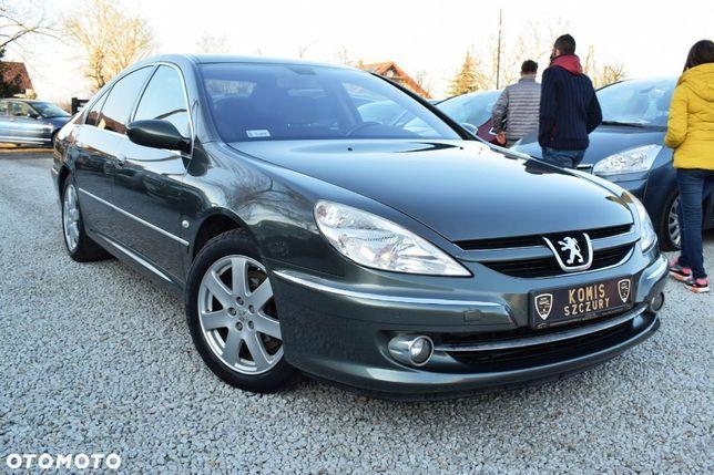 Peugeot 607 607 2.0 HDI 136KM Zarejestrowany Klima, Alusy Elektryka FULL Serwis