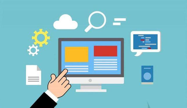 Strona internetowa - kompleksowe tworzenie internetowego biznesu