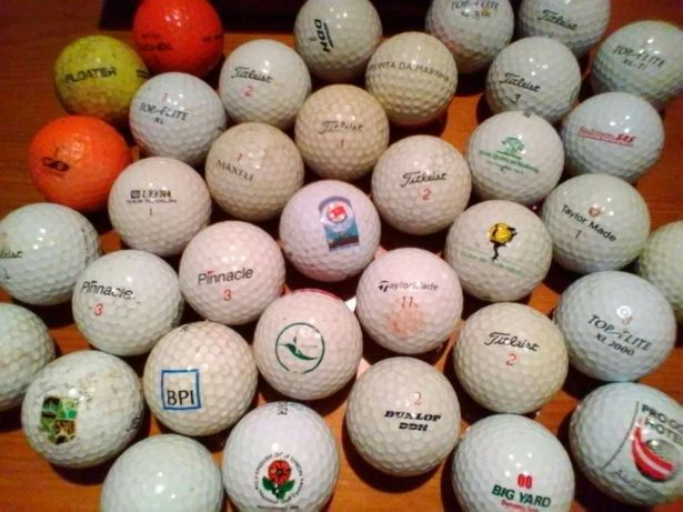 Bolas de golfe Comemorativas