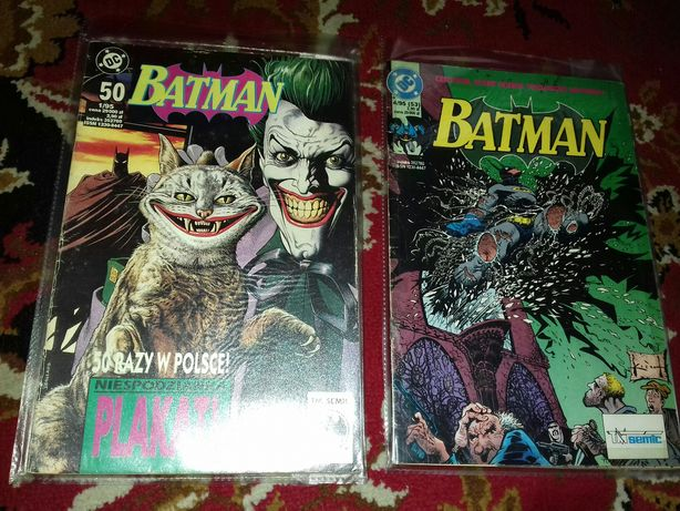 Komiksy batman 1./4./95