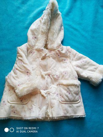 Płaszczyk / kurtka dla dziewczynki r 68
