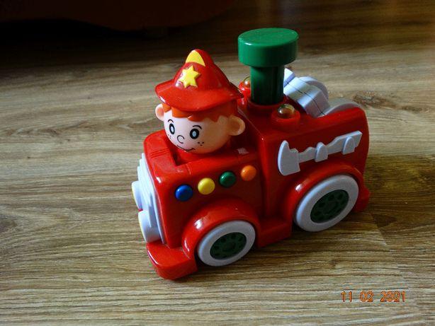 Wóz strażacki grający