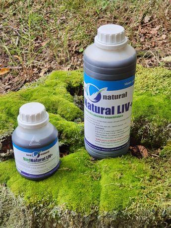 Bird Natural Liv + 1l podnosi metabolizm wątroby u gołębi, kaczek, kur