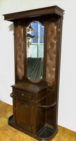 Móvel Bengaleiro Rústico c/Espelho