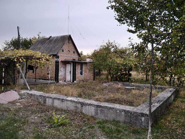Березань, 60 км по Харьковской трассе, небольшой домик. Без комиссии!