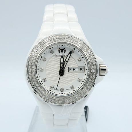 Женские новые часы TechnoMarine Cruise Ceramic Diamonds 36 мм