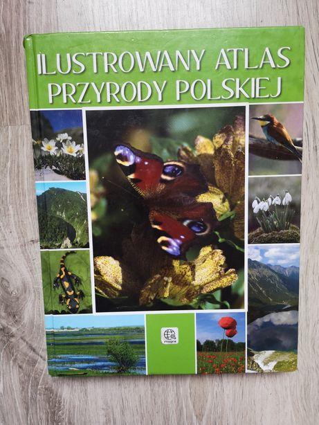 Ilustrowany atlas przyrody polskiej książka