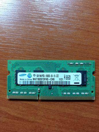 Оперативная память для ноутбука, ОЗУ 1Гб, Samsung.