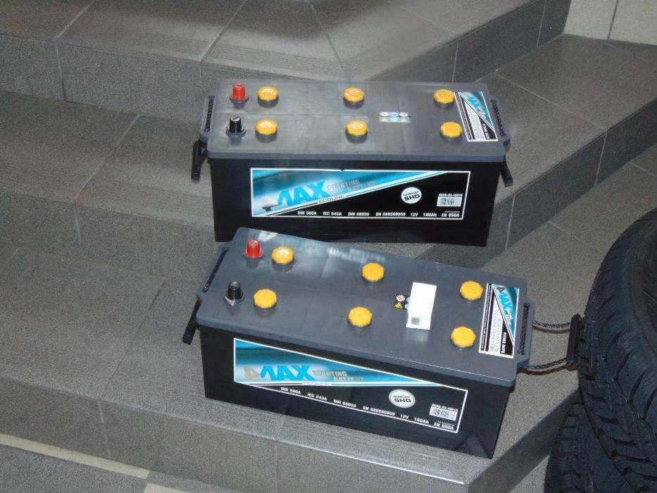 Akumulator 4max 180Ah 950A 12V Tanio Wymiana za darmo! Kraków dowóz