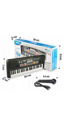 KEYBOARD Bigfun 5301C Pianino Elektryczne Mikrofon