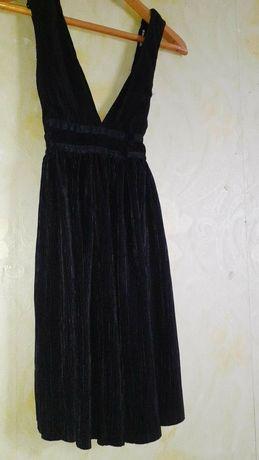 черное платье terranova