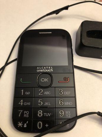 Telefon dla seniora Alcatel onetouch