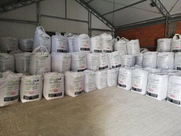Wapno granulowane magnezowe węglanowe kreda Wysoko aktywne Nawozowe