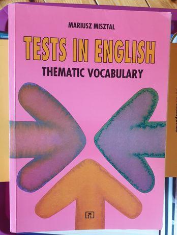 Mariusz Misztal - Tests in English