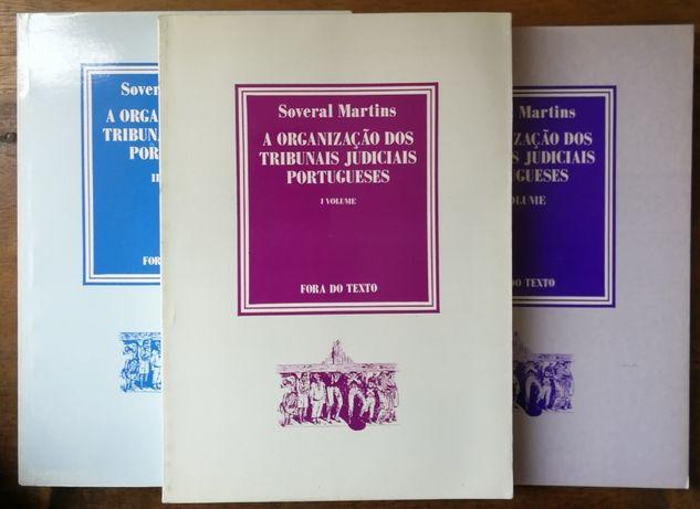 a organização dos tribunais judiciais portugueses, soveral martins