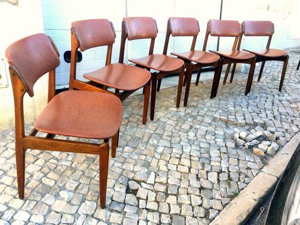 6 Cadeiras olaio vintage