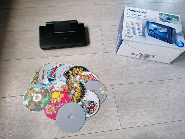 Telewizorek samochodowy - Panasonic przenośny odtwarzacz DVD-LS84