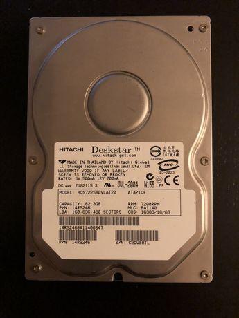 Жесткий диск жорсткий диск Hitachi 82,3 Gb