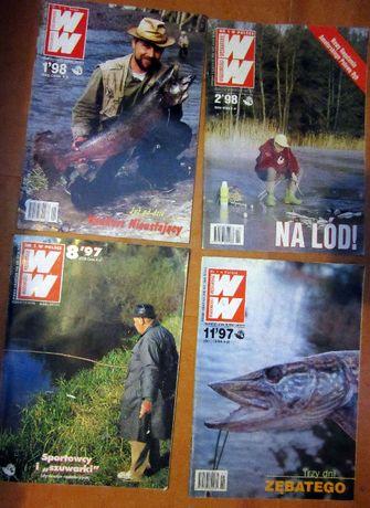 Wiadomości wędkarskie 1/1998 nr 2/1998 nr 8/1997 nr 11/1997