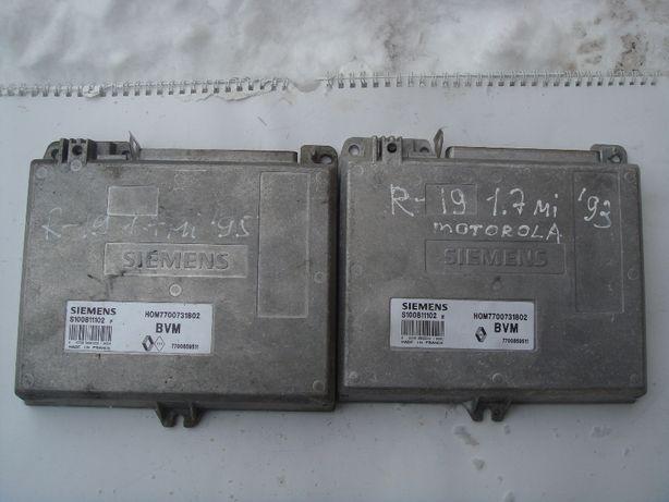 Блок управления Рено-19,-21,-5,-Рапид.