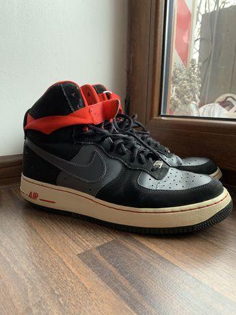 Оригинал. Кросовки (Кроссовки ) Nike Air Fors 1 mid Black.   Размер 43