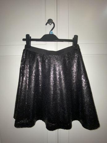 Cekinowa spódnica